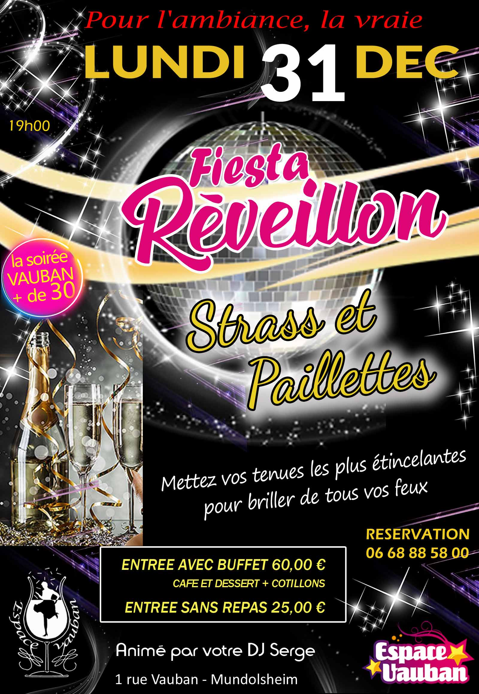 64f03a076c3 ☆ Fiesta Réveillon ☆ Strass et Paillettes ☆ – ESPACE VAUBAN